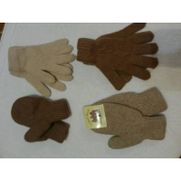 Варежки и перчатки из верблюжьей шерсти или пуха яка