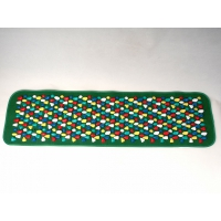 Массажный коврик цветной с камнями Fosta F 0812