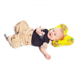 Ортопедическая подушка для младенцев ТОП-110 (31×24×6 см)