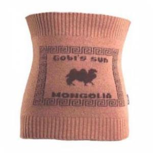 «Пояс трикотажный из шерсти с пухом яка или верблюда»